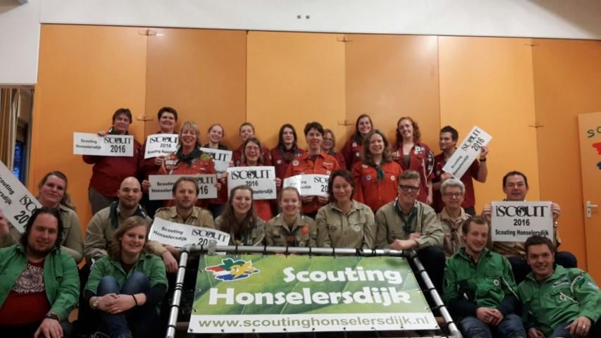 Scouting Honselersdijk doet mee aan iScout!