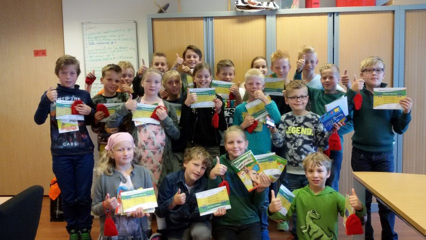 Kangoeroewedstrijd 2015 op de WSKOr-.k. Basisschool Verburch-Hof