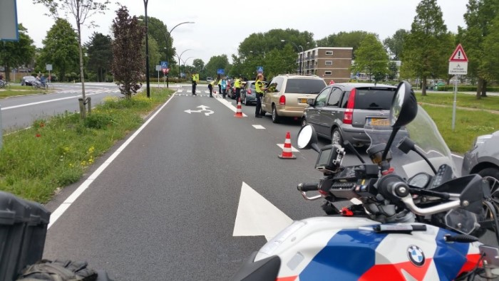 Alcoholcontrole in Maassluis