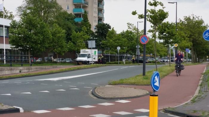 Automobilisten bekeurd op de Industrieweg