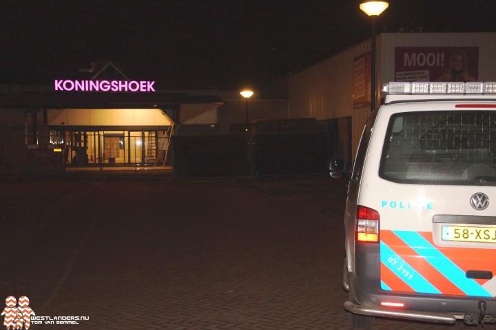 Inbreker betrapt bij winkelcentrum Koningshoek
