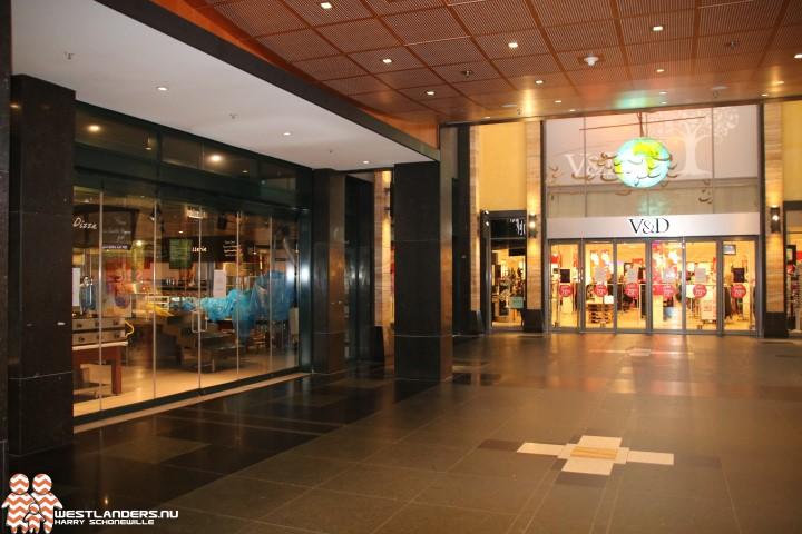Stuk rustiger in winkelcentrum de Tuinen