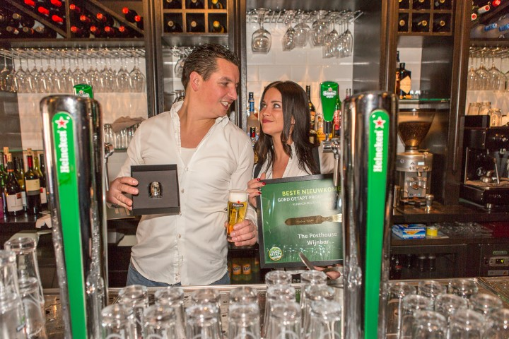 Posthouse Wijnbar wint Zilveren Tapknop en Gouden Spatel