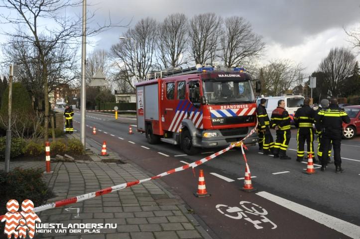 Kortsluiting in stroomkabel Secretaris Verhoeffweg