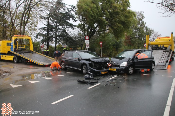 Auto S Total Loss Door Ongeluk Poeldijkseweg Nieuws Op Westlanders Nu