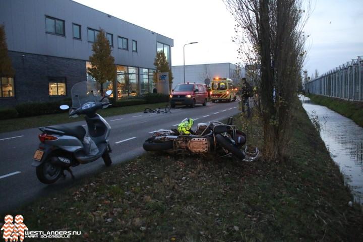 Fietsster ernstig gewond bij ongeluk De Poel