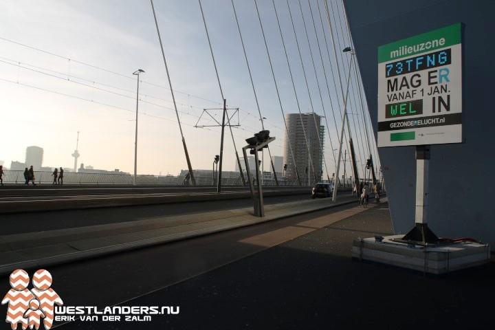Milieuzone Rotterdam wordt uitgebreid
