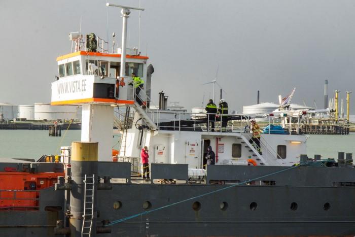 Dodelijk bedrijfsongeval op schip Rozenburg