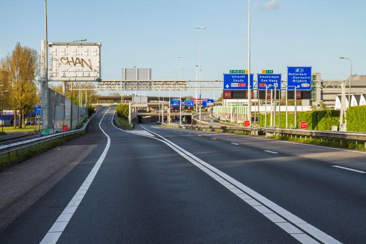 Weekendafsluiting A20 voor stil asfalt