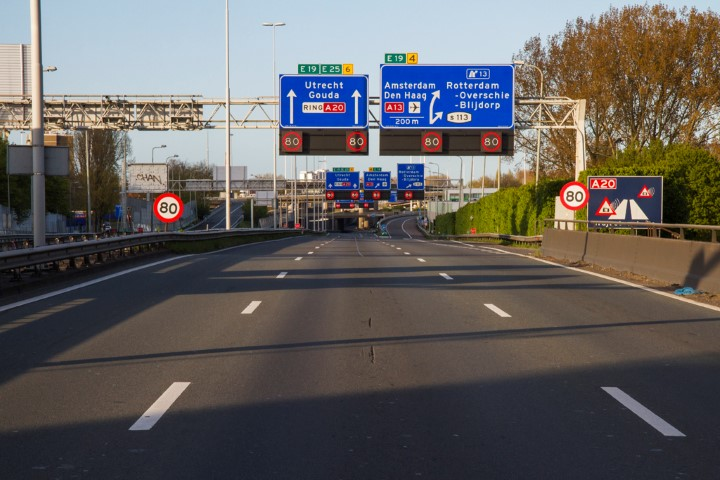 Trajectcontrole A20 Rotterdam start maandag 10 oktober
