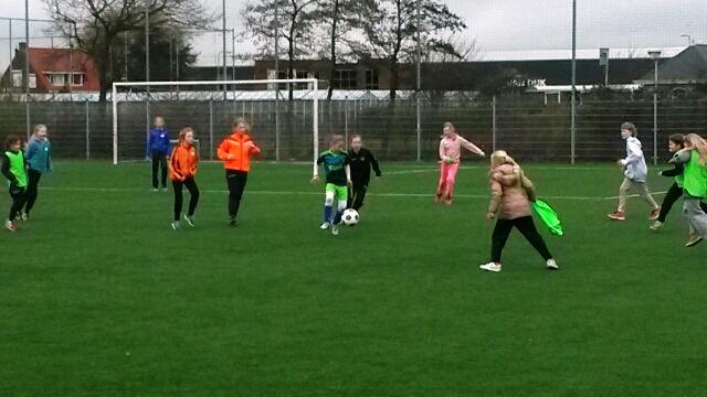 Geslaagd meisjestournooi bij SV Honselersdijk