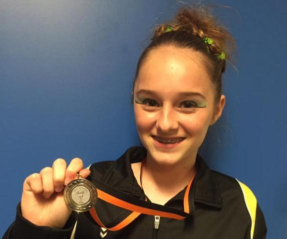 Britt Swanborn wint zilver in Apeldoorn