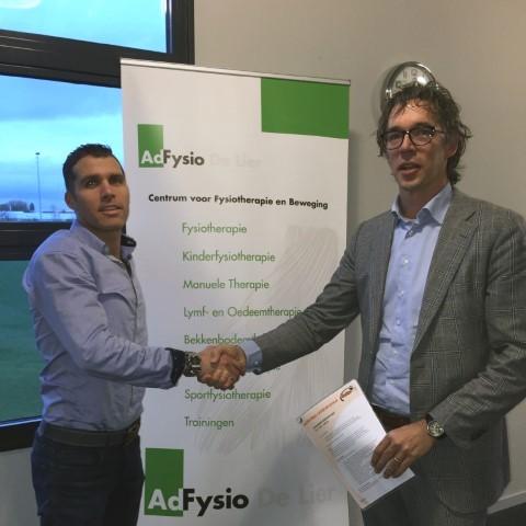 CKV VALTO en AdFysio verlengen samenwerking
