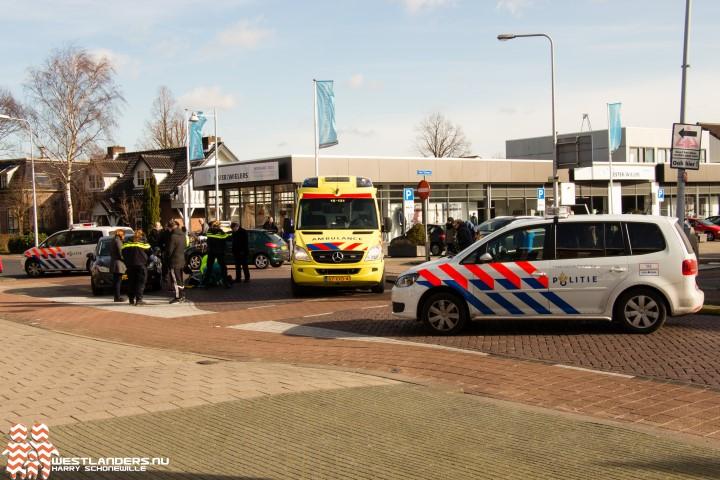 Voetgangster gewond bij ongeluk Herenstraat