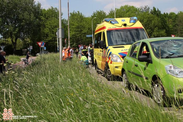 Fietsster gewond bij ongeluk Poeldijkseweg
