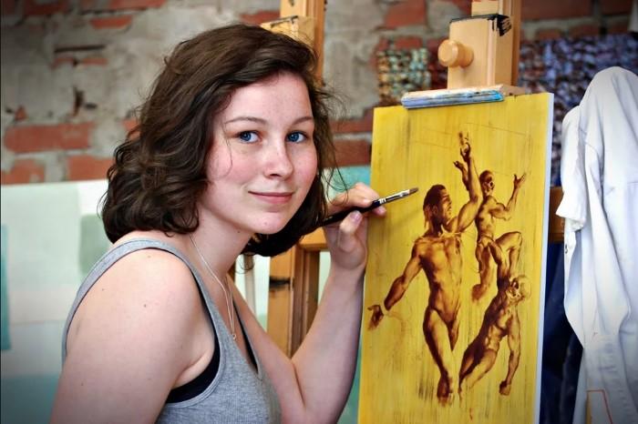 Westlandse Tessa Aalbregt naar Art Expo New York