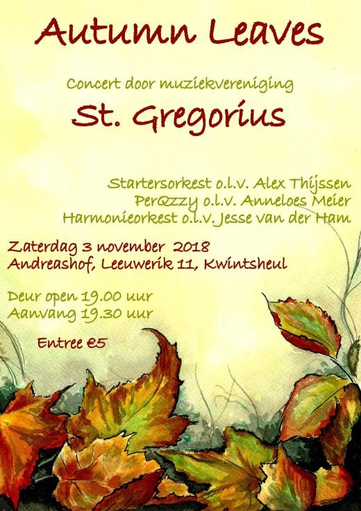 Warme klanken door Muziekvereniging St. Gregorius, Kwintsheul.