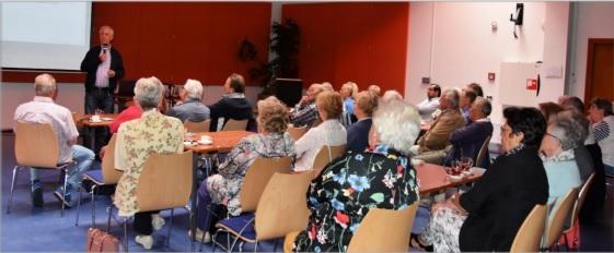 Presentatie nieuwe workshopprogramma bij SC Koningshof