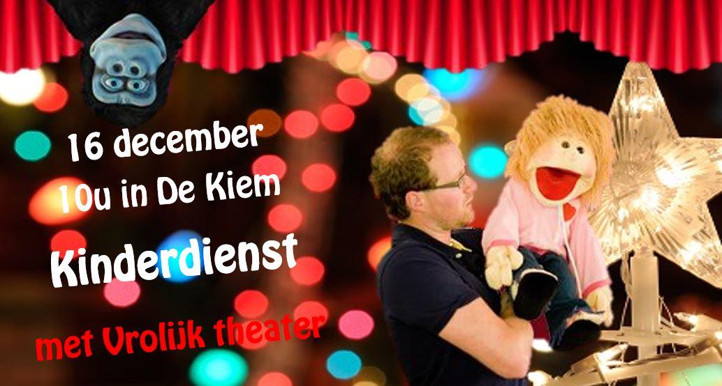 16 december kinderdienst in De Nieuwe Rank