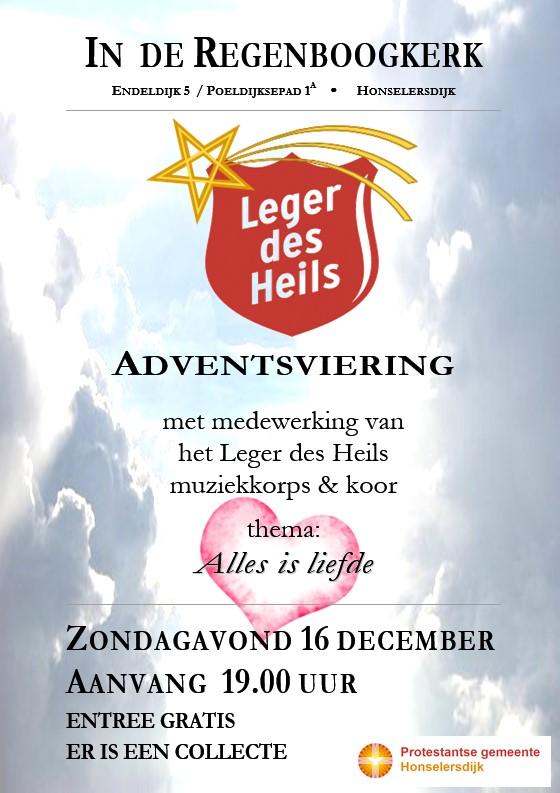 Leger des Heils muziekkorps & koor in Honselersdijk