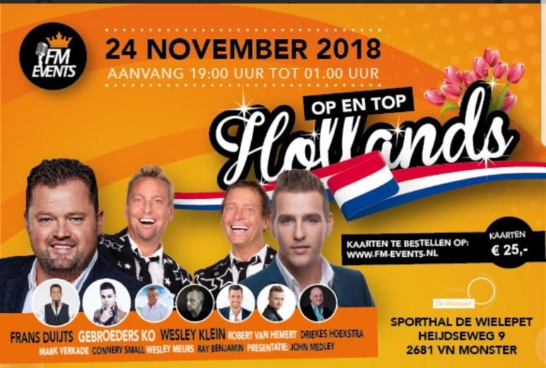 Op en top Hollands feestje in de Wielepet