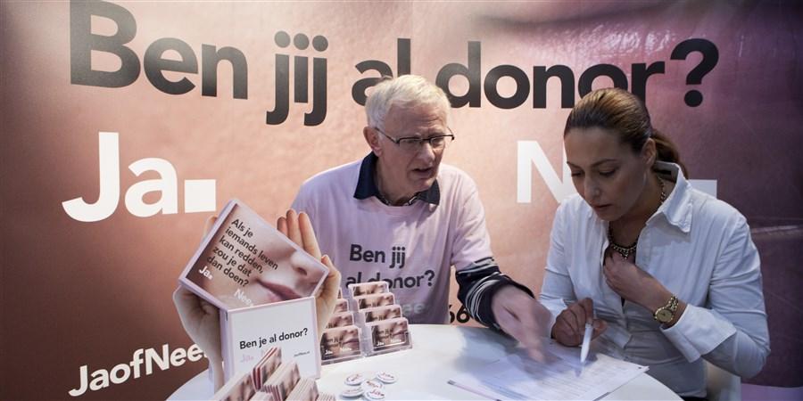 Teller donorregister staat op 6,8 miljoen