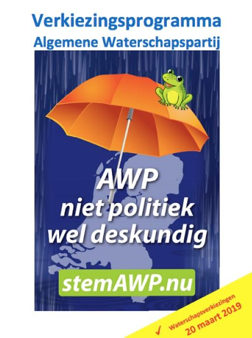 Algemene Waterschapspartij zoekt medestanders