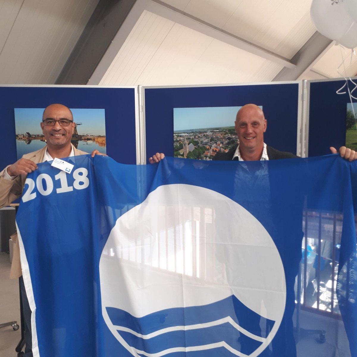 Blauwe Vlag voor Westlandse stranden