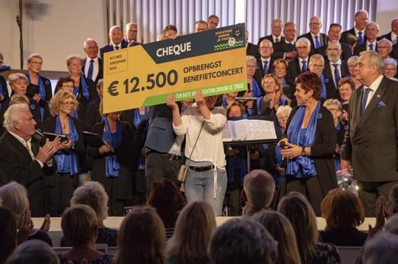 Benefietconcert Monster goed voor  € 12.500