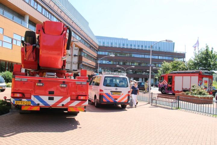 Brand in droger Franciscus Vlieland ziekenhuis