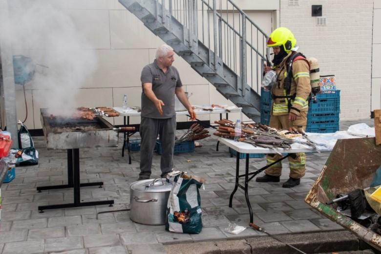 Woningbrand blijkt barbecue