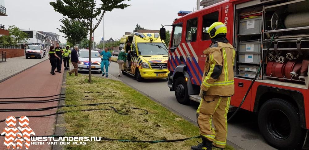 Kleine keukenbrand in Naaldwijk