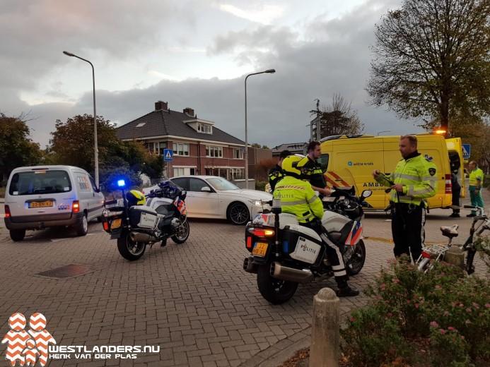 Fietser gewond na ongeluk Hoofdstraat