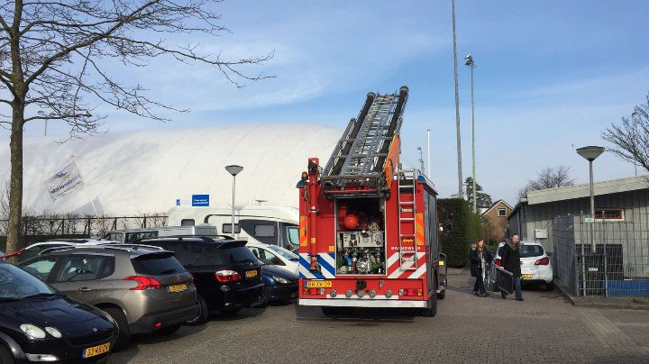 Brandmelding door defecte condensator