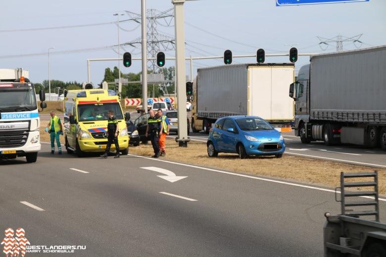 Dode hoek ongeluk op het Westerleeplein