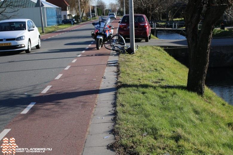 Pittig ongeluk aan de Hoogweg