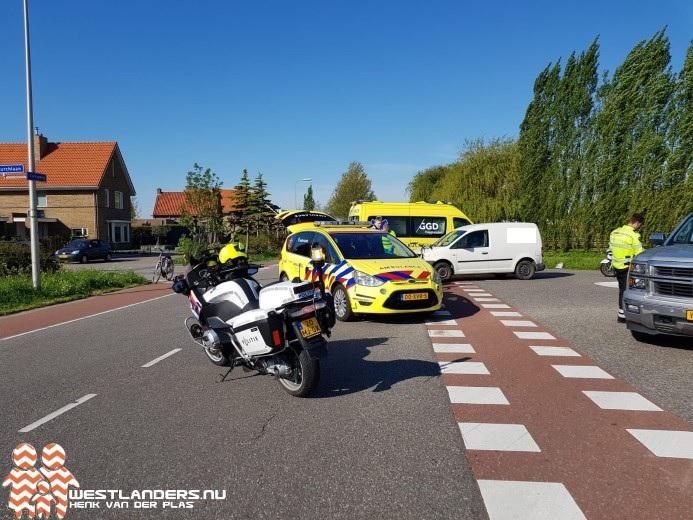 Gewonde na ongeluk Veilingweg