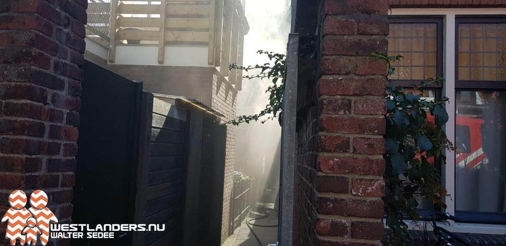 Binnenbrand aan de Raamstraat