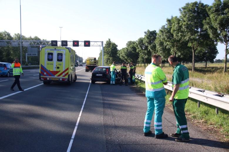 Gewonde na ongeluk op de A13
