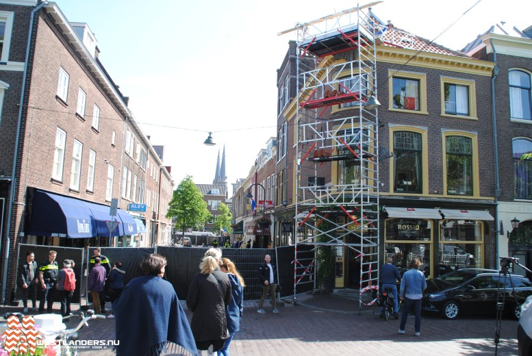Coffeeshop gesloten na incidenten Delftse binnenstad