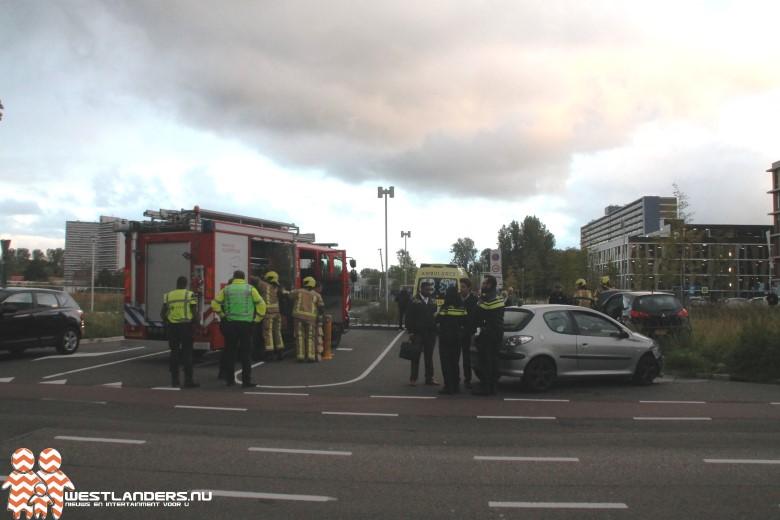 Gewonde bij ongeluk Reinier de Graafweg