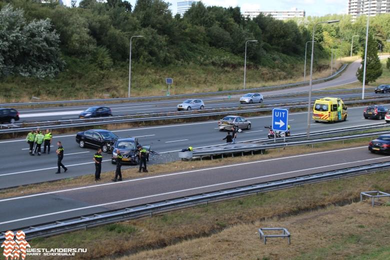 Twee gewonden na ernstig ongeluk A4