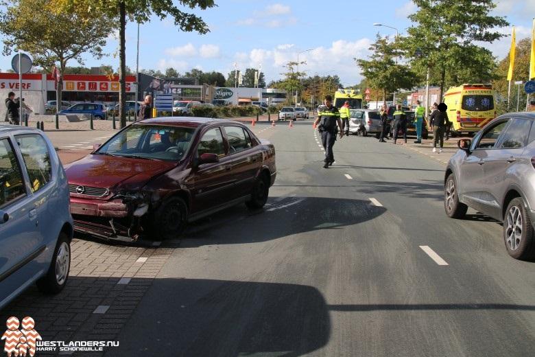 Twee gewonden bij ongeluk Zichtenburglaan