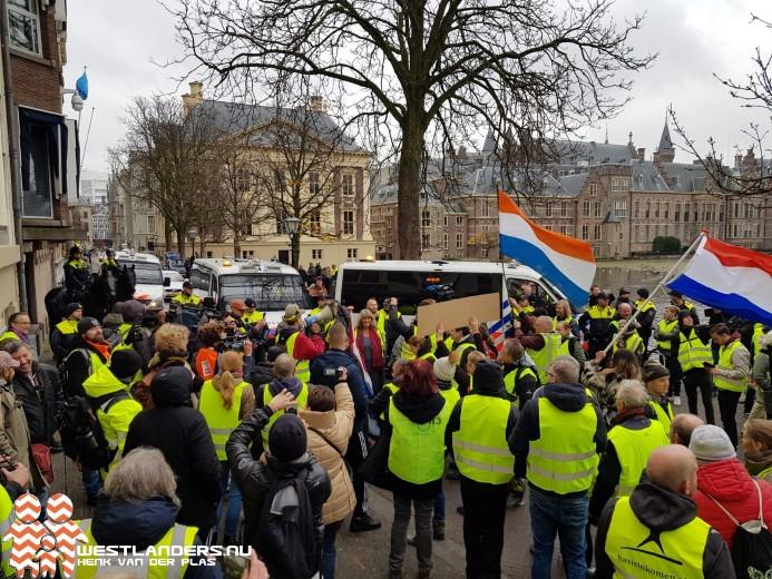 Protestactie gele hesjes Den Haag rustig verlopen