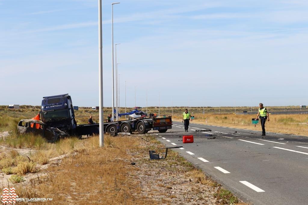 Identiteit bestuurder dodelijk ongeluk Maasvlakte bekend