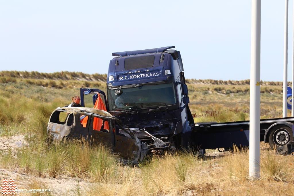 Dodelijk ongeval aan de Maasvlakteweg