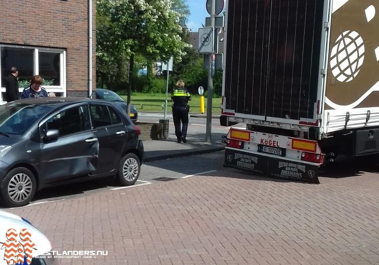 Schade aan geparkeerde auto na foutieve instructie