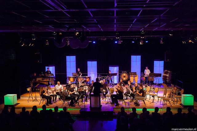 Muziekvereniging Rotterdam aan Zee in z'n element(en)