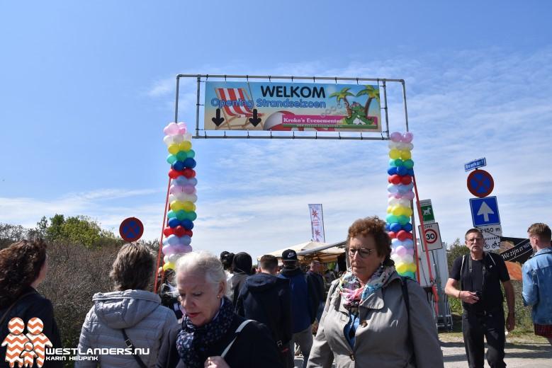 Geslaagde opening strandseizoen in Hoek van Holland