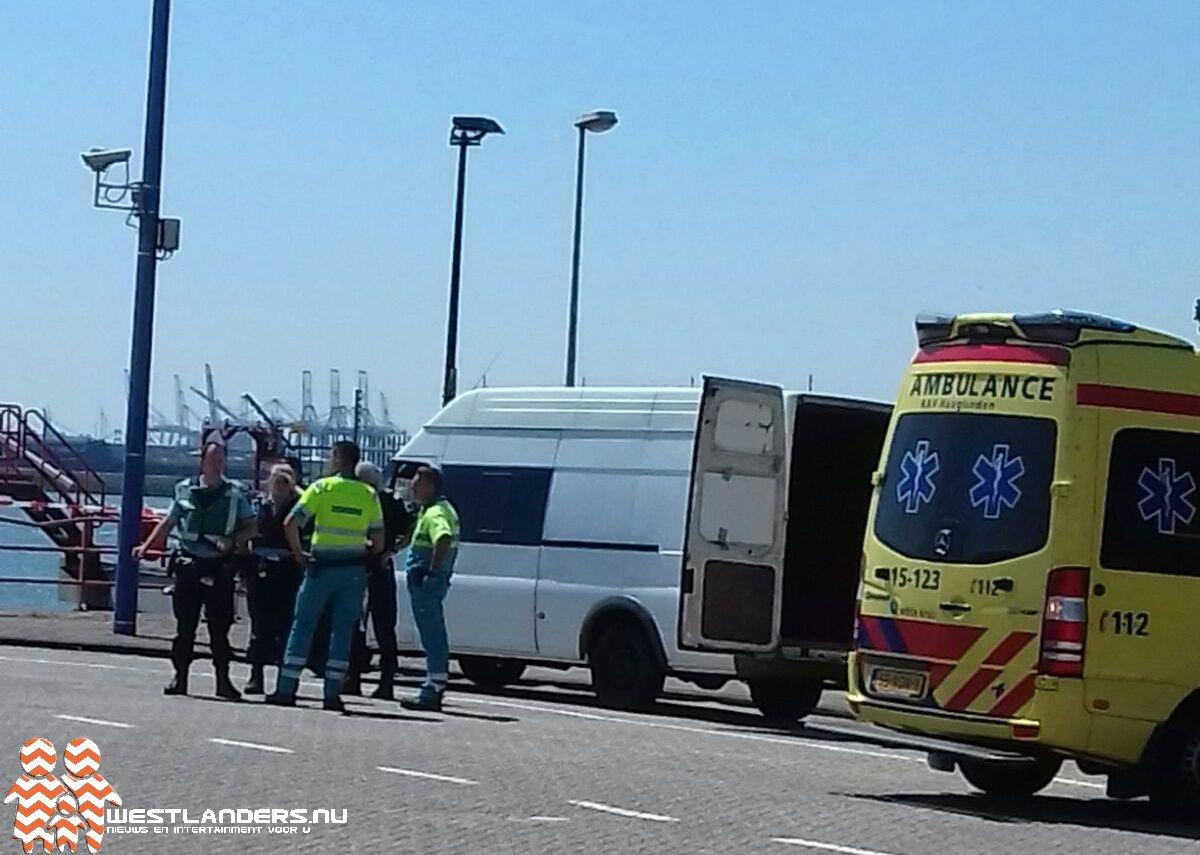 Vreemdelingen in busje aangetroffen